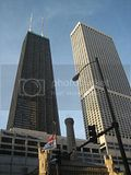 Hancock Building and Water Tower Place